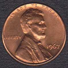 1967 P Lincoln Memorial Cent