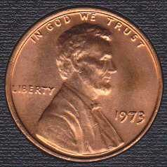 1973 P Lincoln Memorial Cent