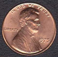 1975 P Lincoln Memorial Cent