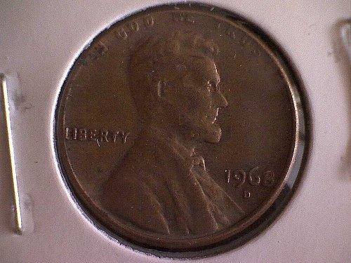 1968-D LINCOLN MEMORIAL PENNY