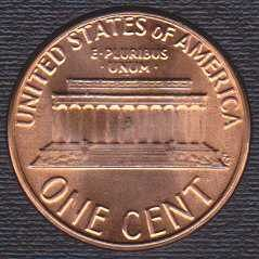 1981 D Lincoln Memorial Cent