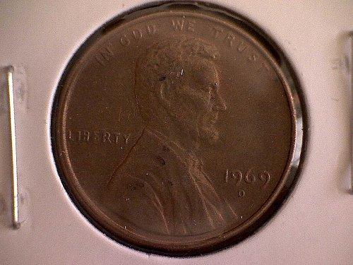 1969-D LINCOLN MEMORIAL PENNY