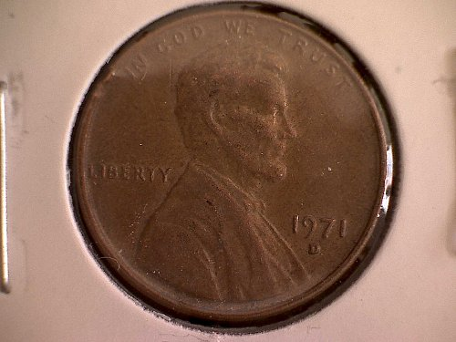 1971-D LINCOLN MEMORIAL PENNY