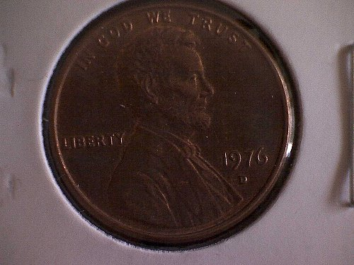 1976-D LINCOLN MEMORIAL PENNY