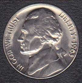 1963 P Jefferson Nickel