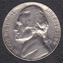 1964 P Jefferson Nickel