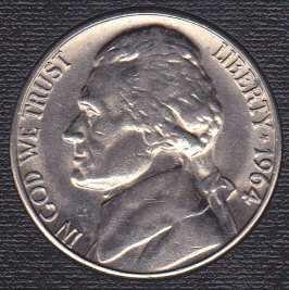 1964 D Jefferson Nickel