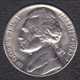1973 D Jefferson Nickel