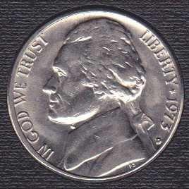1973 D Jefferson Nickel