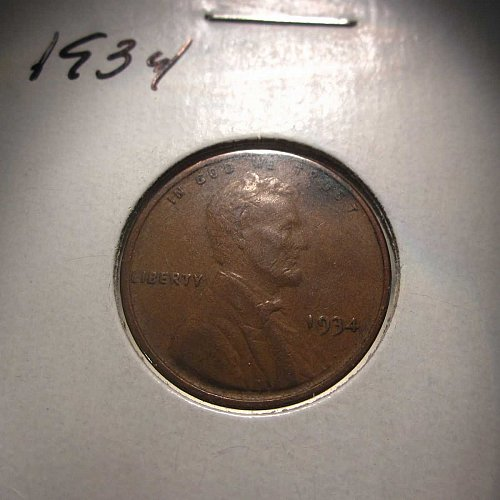 1934 Lincoln Cent – Nice Penny