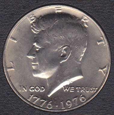 1976 P Kennedy Half Dollar