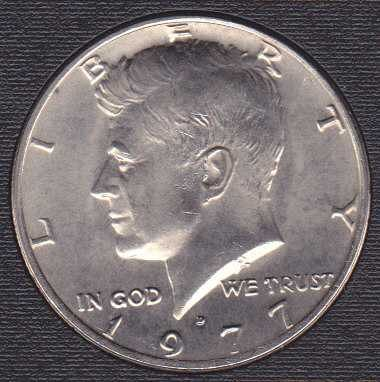 1977 D Kennedy Half Dollar