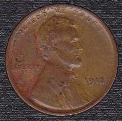 Lincoln Wheat Cent 1913 P