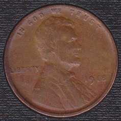 1918 P Lincoln Wheat Cent