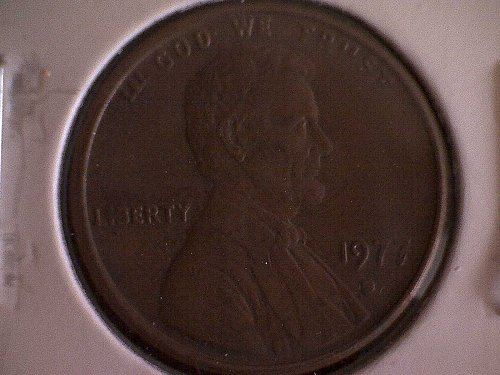 1977-D LINCOLN MEMORIAL PENNY