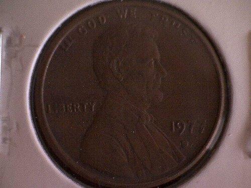 1977-D LINCOLN MEMORIAL PENNY