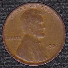 1923 P Lincoln Wheat Cent Small Cent