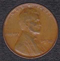 1930 P Lincoln Wheat Cent