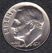 1978 P Roosevelt Dime