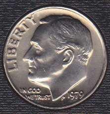 1979 P Roosevelt Dime