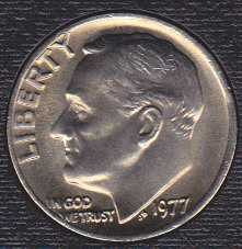 1977 P Roosevelt Dime