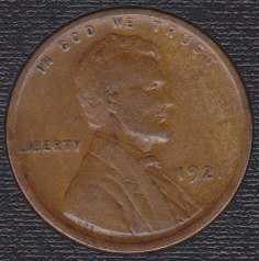 1921 P Lincoln Wheat Cent