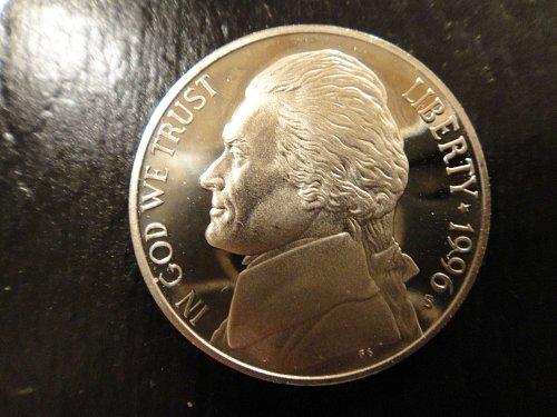 1996-S Jefferson Nickel Proof-65 (GEM)