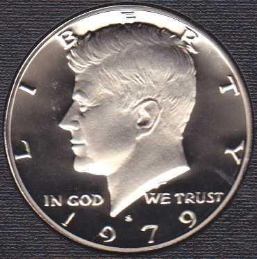 1979 S Kennedy Half Dollar