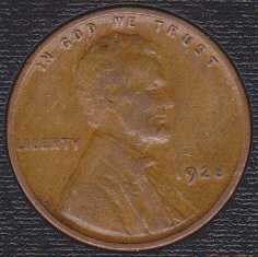 1928 P Lincoln Wheat Cent (Lamination Error)