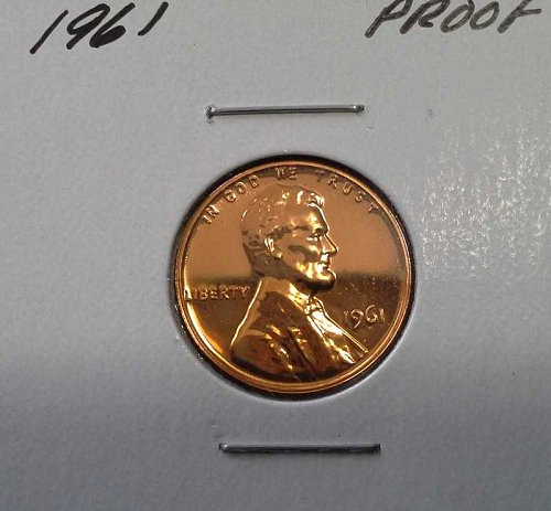 Clearance - 1961 Gem Proof Lincoln Cents