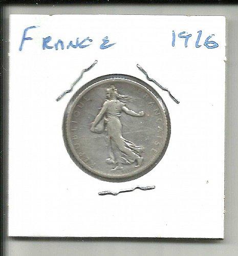 1916 FRANCE -  1 FRANC