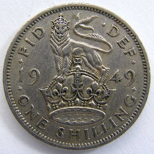 1949 GREAT BRITAIN SHILLING