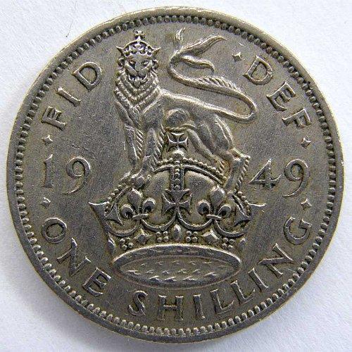 1949 GREAT BRITAIN SHILLING