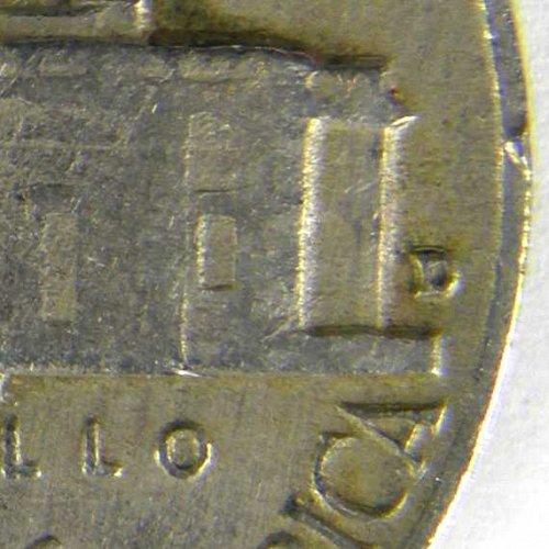 1960 D Jefferson Nickel