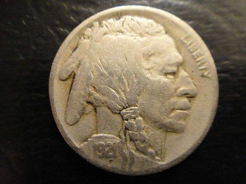 1921 Buffalo Nickel Fine-15
