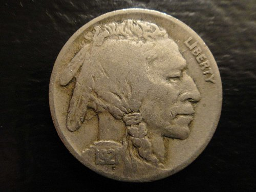 1921 Buffalo Nickel Very Fine-25