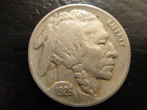 1926 Buffalo Nickel Extra Fine-45
