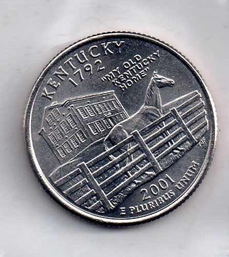 2001 D BU Kentucky Washington Quarter #3