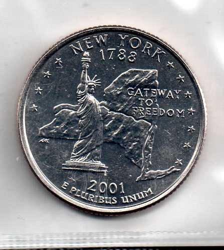 2001 D BU New York Washington Quarter #3