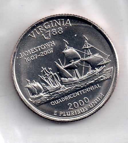 2000 p BU Virginia Washington Quarter #3