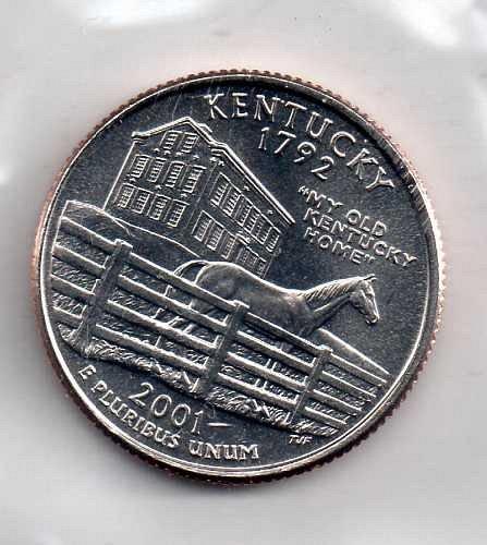 2001 P Kentucky Washington Quarter #3