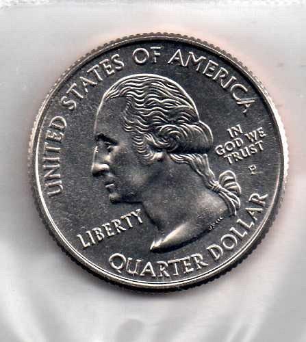 2001 P BU North Carolina Washington Quarter #4