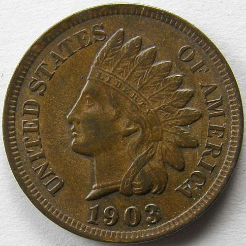 1903 P Indian Head Cent #1