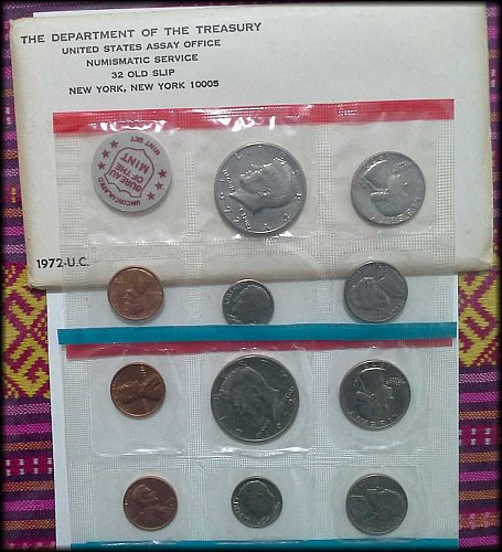 1972 US Government Issued Mint Set