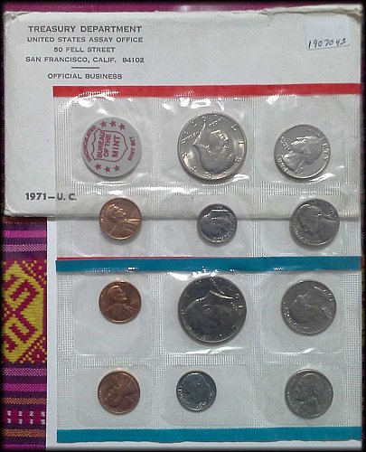 1971 US Government Issued Mint Set