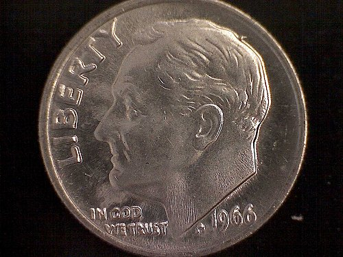1966-SMS ROOSEVELT DIMES