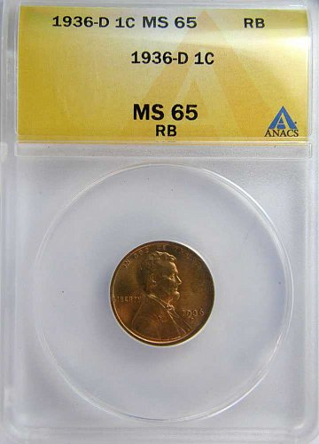 1936 D Lincoln Wheat Cent