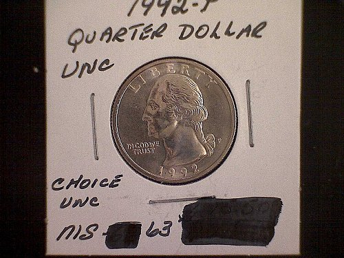 1992-P Washington Quarter