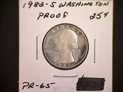 1982-S WASHINGTON QUARTER