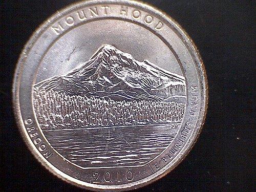 2010-P MT. HOOD OREGON WASHINGTON QUARTER